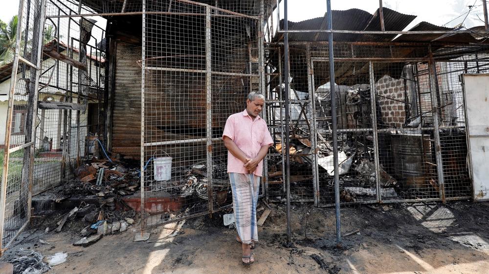 Sri Lanka orders nationwide curfew amid anti-Muslim riots