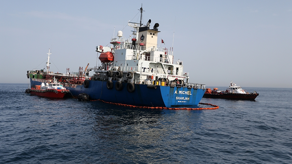 Iran suggests oil attacks orchestrated to spark conflict thumbnail