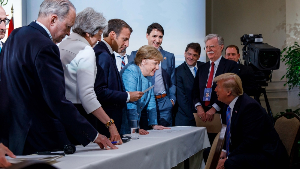 Trump says appropriate to let Russia join G7