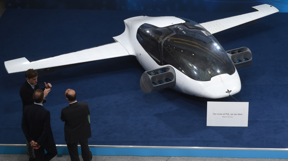 [Tvt News]World's first electric-powered air taxi to launch 'by 2025'