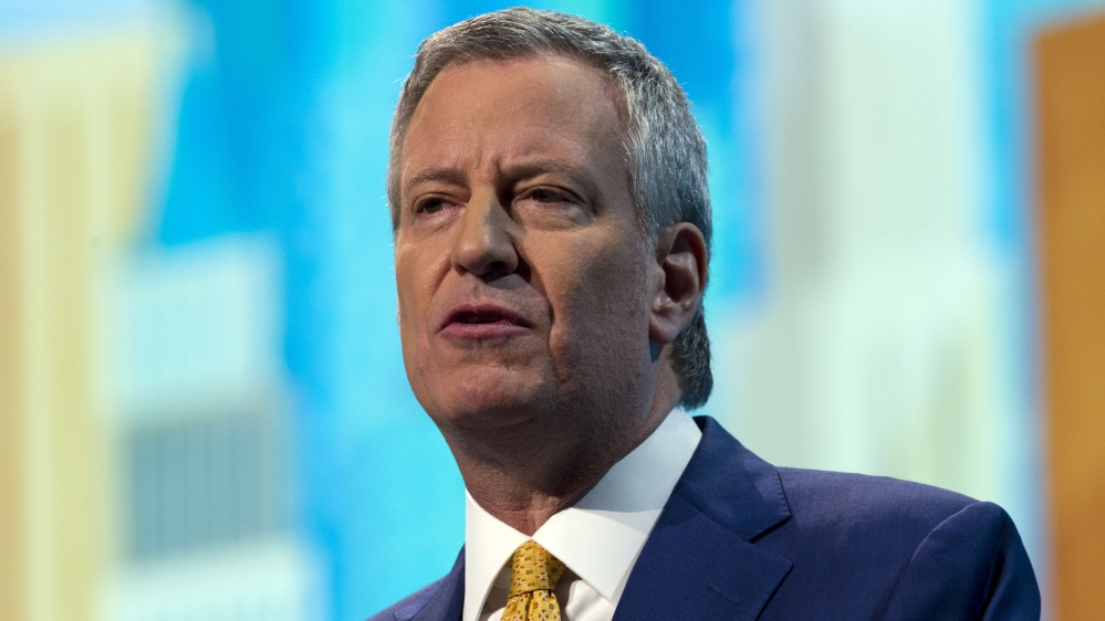 InfoSnipz New York City Mayor Bill de Blasio
