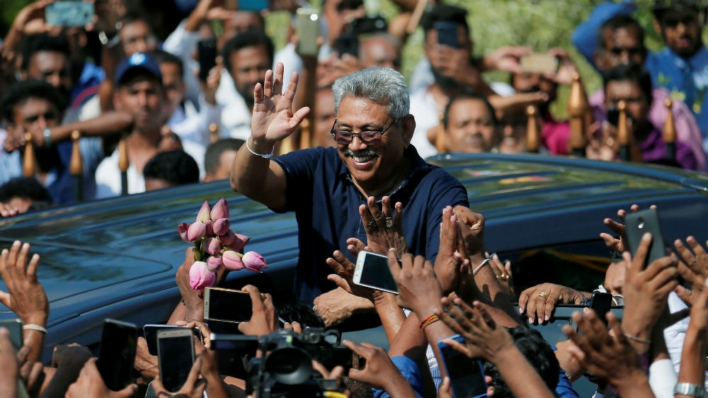Gotabaya Rajapaksa confirms presidential run in anxious Sri Lanka thumbnail
