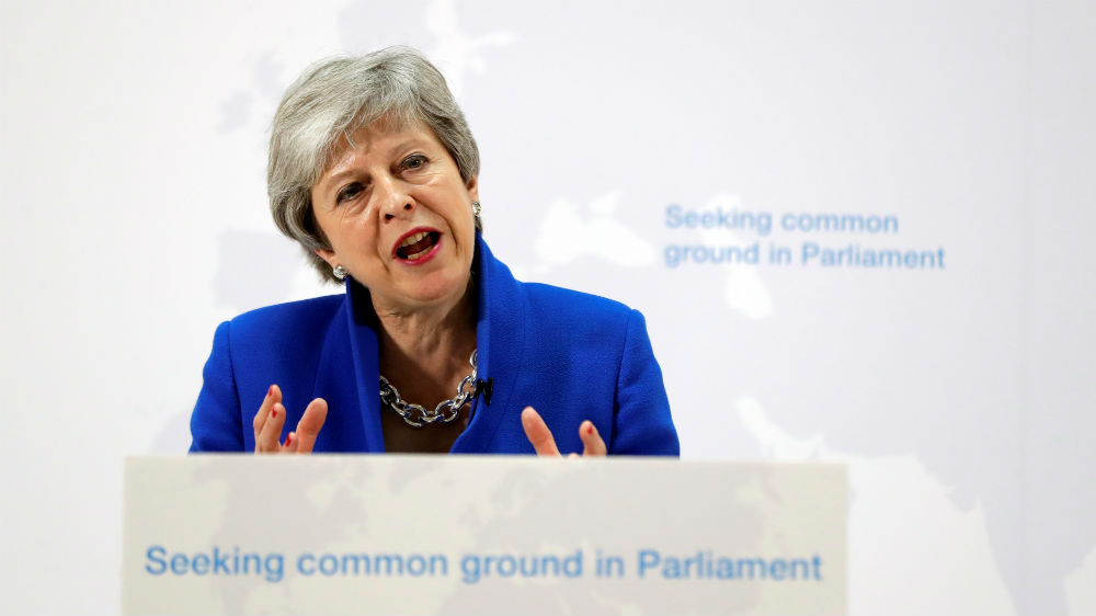 May offers 'confirmatory referendum' on her Brexit deal