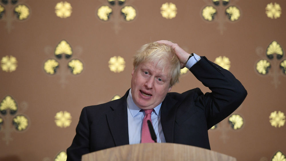 Boris Johnson Reuters