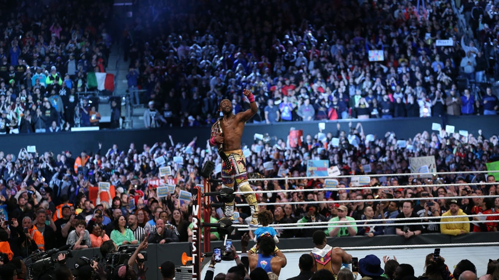 American wrestler Kofi Kingston [Courtesy of WWE]