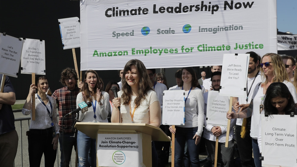 Amazon climate justice