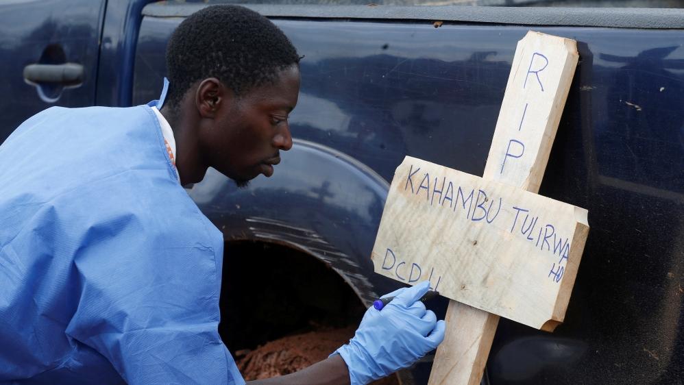 DR Congo records 1,000th Ebola death in current outbreak - Aljazeera.com