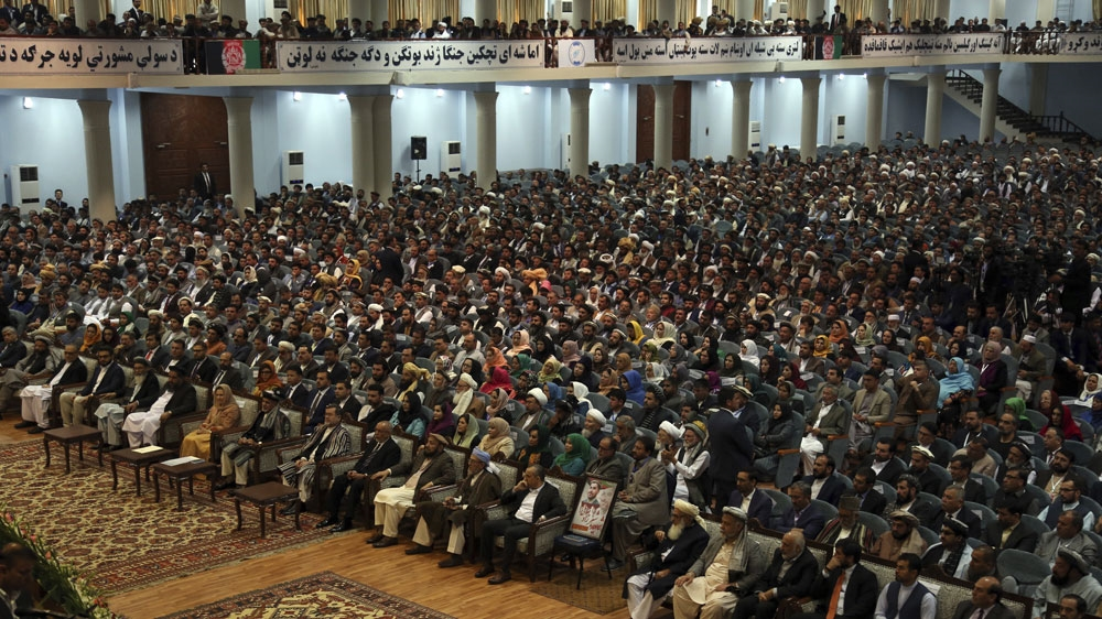 Afghanistan loya jirga demands 'immediate and permanent' ceasefire