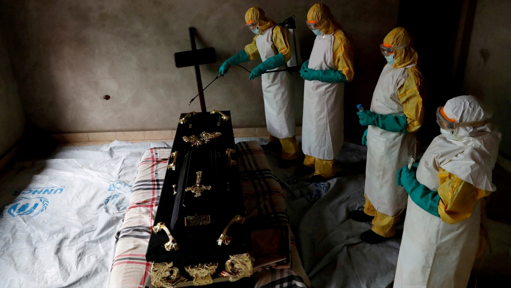 DR Congo records 1,000th Ebola death in current outbreak