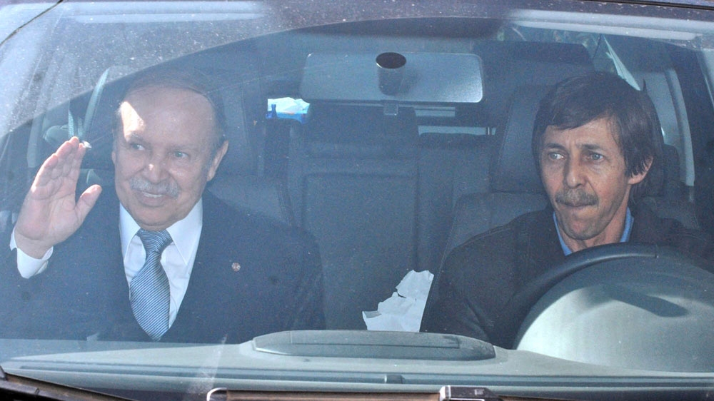 Image result for Police arrest Bouteflika's brother, intelligence chiefs