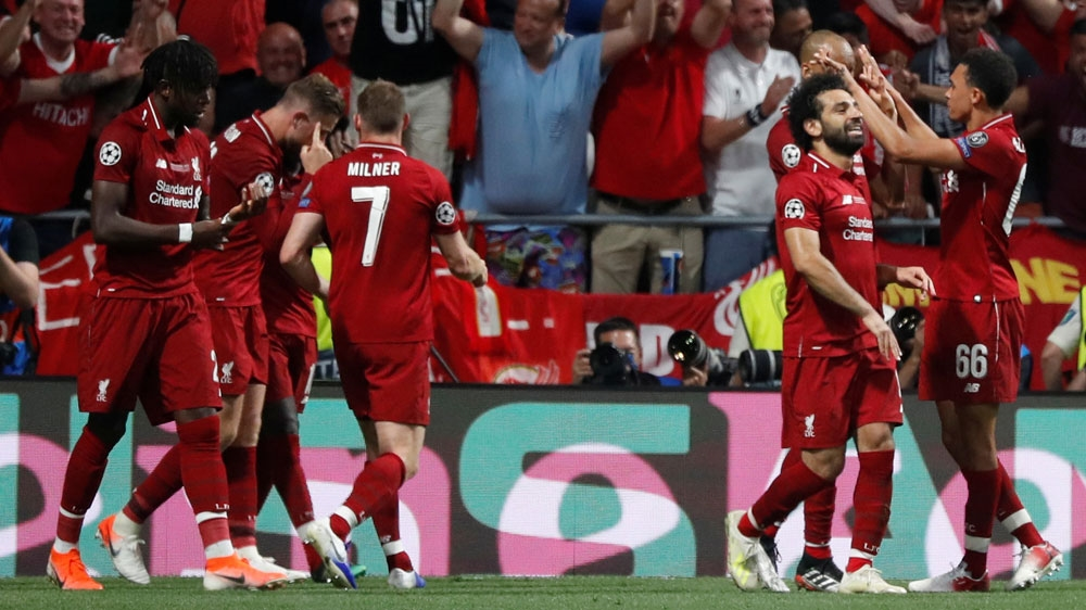 Liverpool Fc Beat Tottenham To Win Champions League Trophy