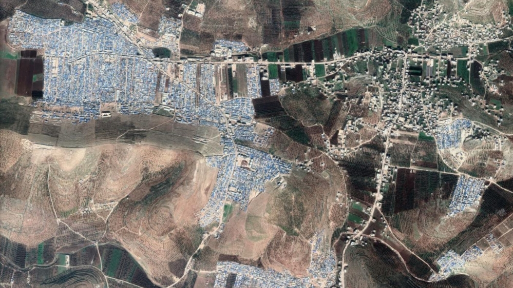 Syria refugee camp Atmah