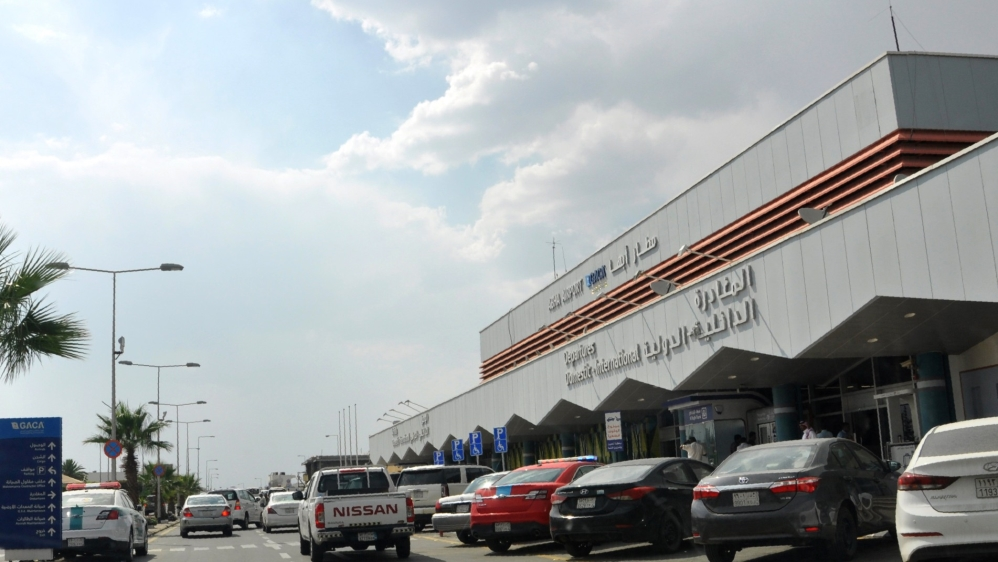 Abha airport, Saudi Arabia