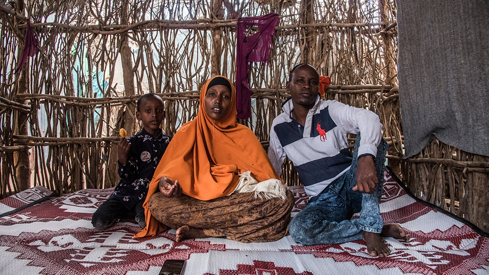 'Getting a chance to resettle would have changed my life and that of family. I am not allowed to freely move and work in Kenya. The US cancelled my resettlement option. My future is at stake,' Binto A