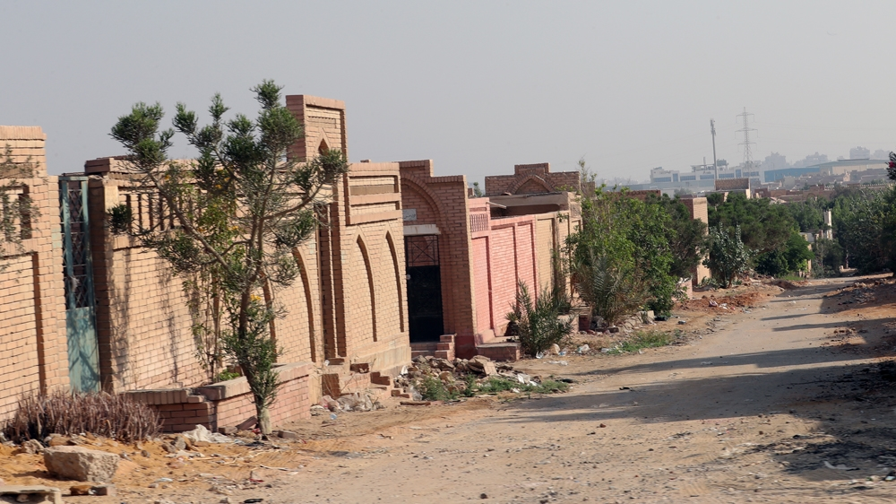 Al-Wafaa Wa al-Amal cemetery after former Egyptian President Mohamed Morsi