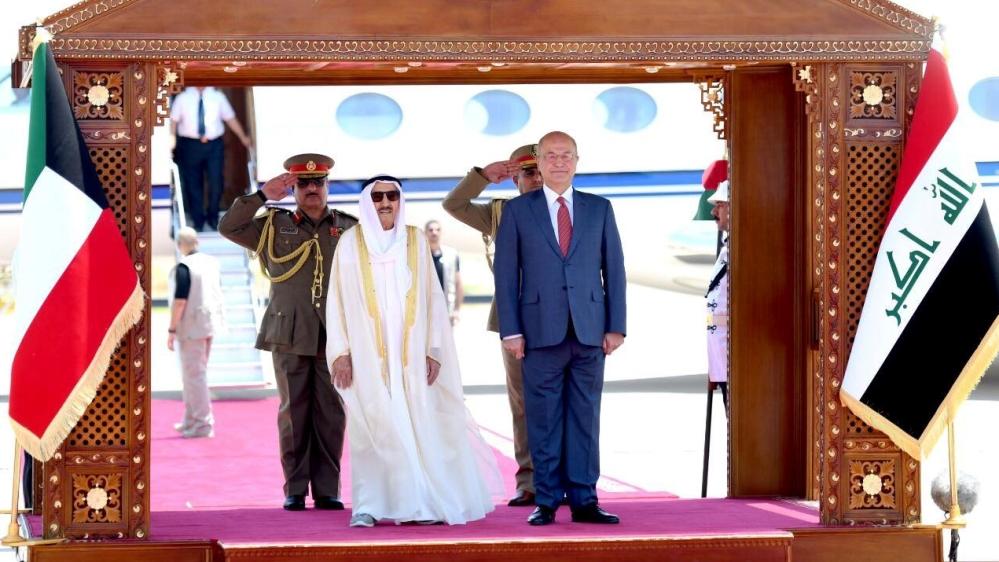 Kuwait Emir visits Iraq amid regional tension