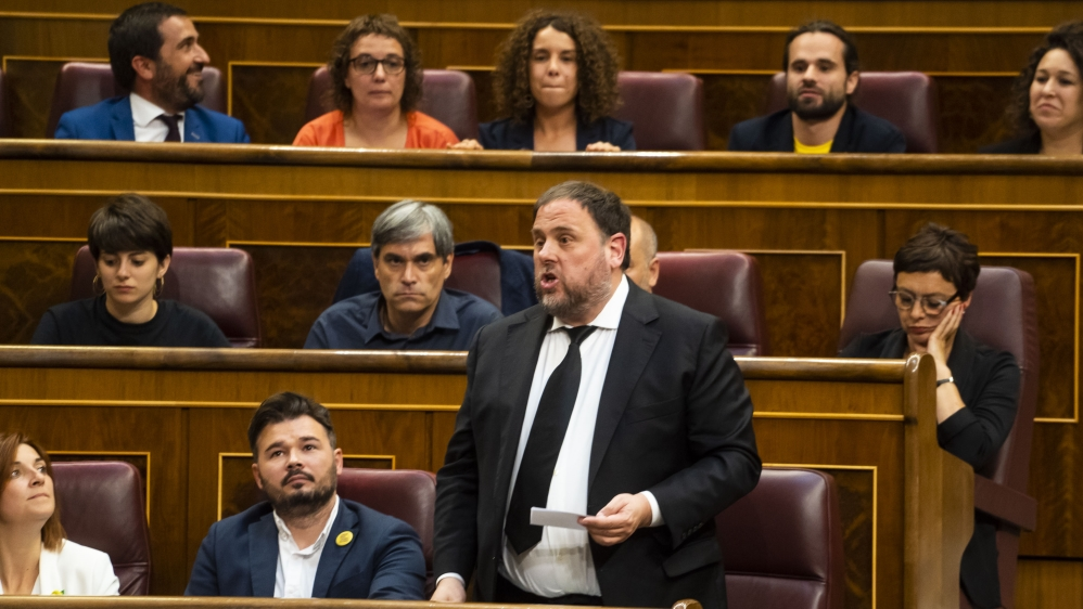 People and Power - Catalan Prisoners Attend The Opening Session Of The Spanish Parliament