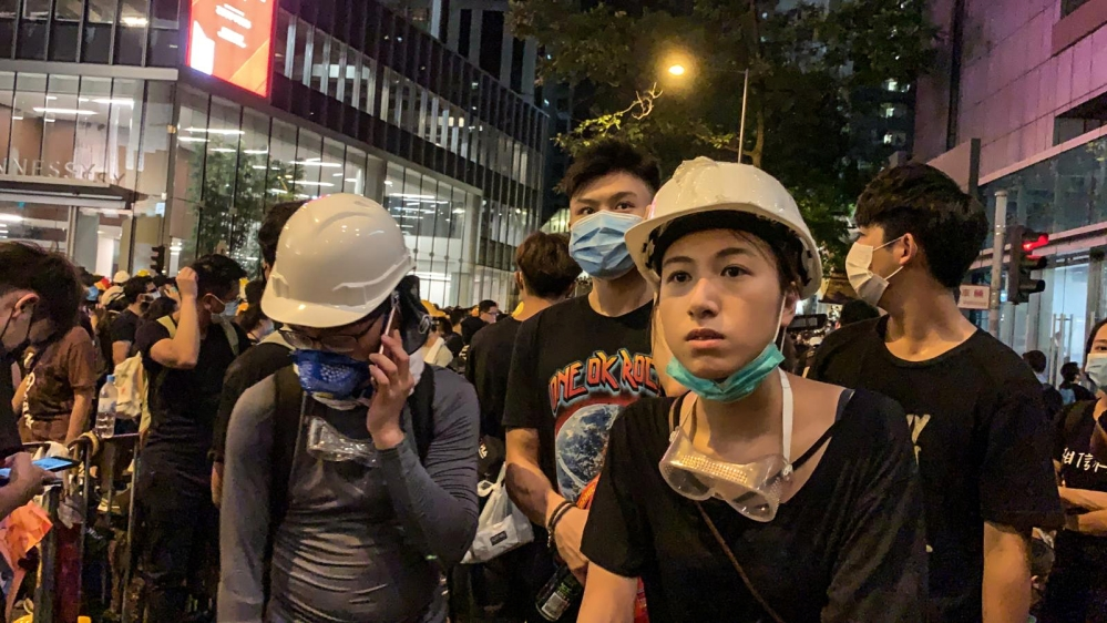 Thousands of protesters again hit Hong Kong's streets | News | Al