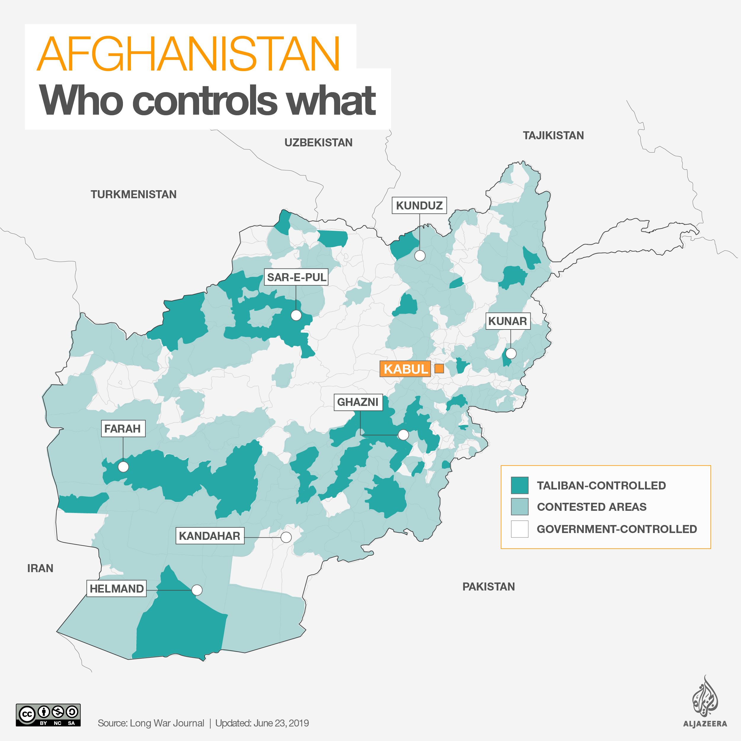 Afghanistan: Who controls what | Afghanistan | Al Jazeera