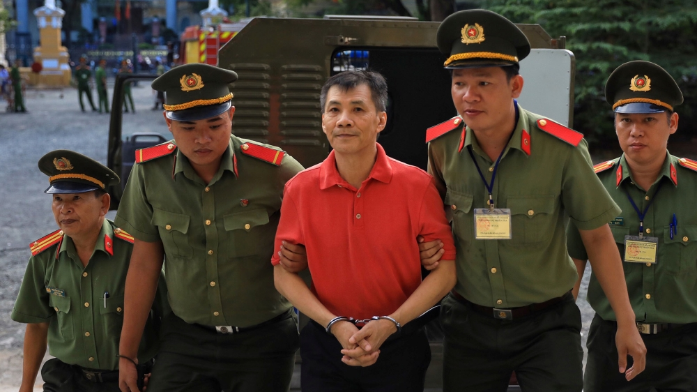 Vietnam jails US man for 12 years for trying to overthrow state