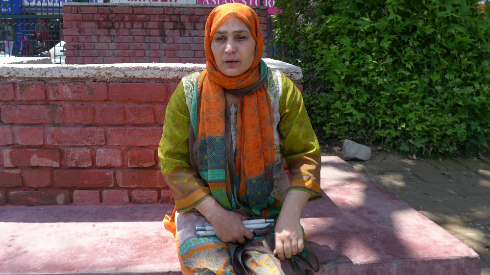 Pakistani women in Kashmir