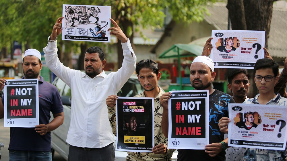 Protests in Indian cities after Muslim man beaten to death thumbnail