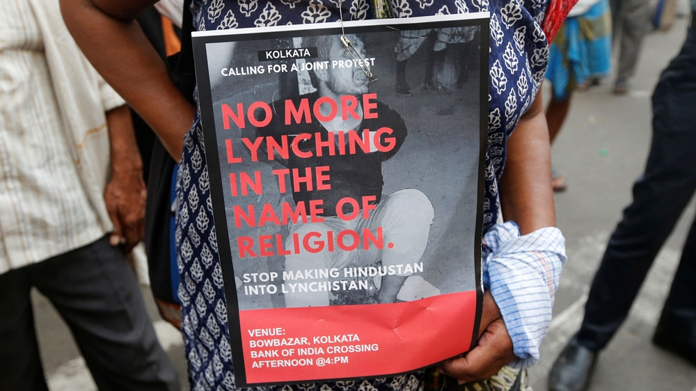 India protest against lynchings