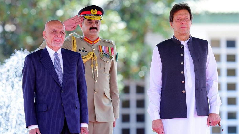 Afghan President Ashraf Ghani arrives in Pakistan for key talks