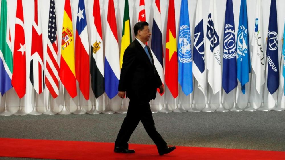 Xin Jinping at the G20 Summit, Osaka, Japan