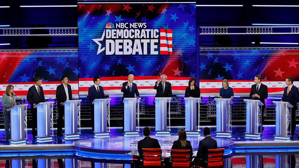 Democrat debate night two