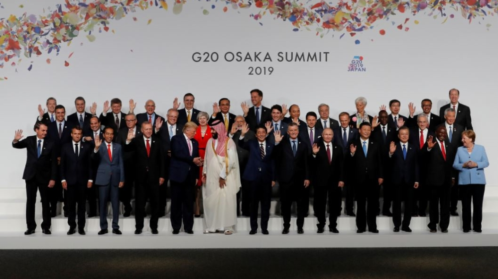 Image result for Osaka summit promotes digital economy for everyone