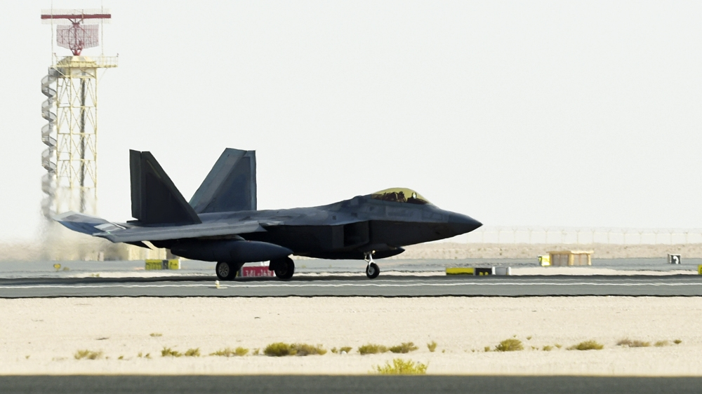 US has deployed F-22 stealth fighters to Qatar for the first time