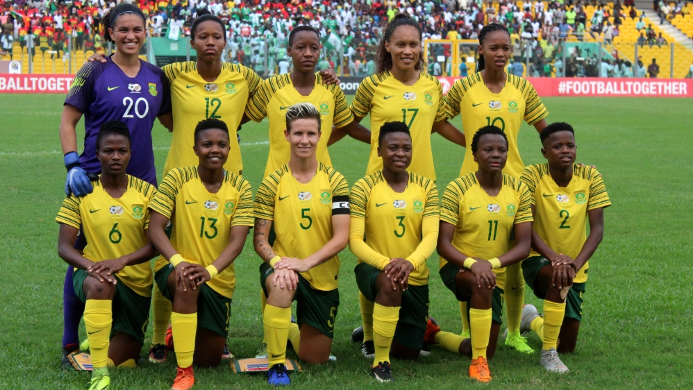 2018 TOTAL African Womens Cup of Nations: Nigeria v South Africa