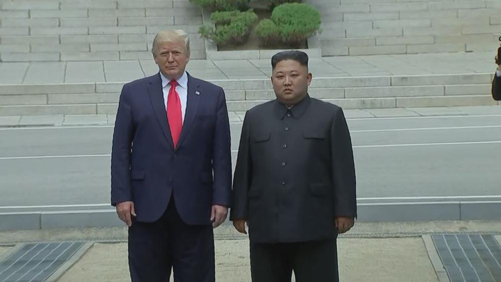 Trump Kim NK