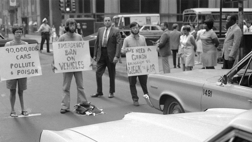 Enviro protest