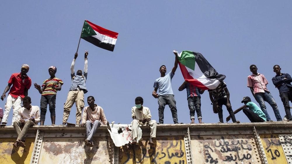Sudan protesters Khartoum