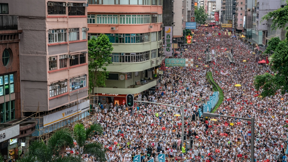 Image result for pics of hong kong agitation 2019