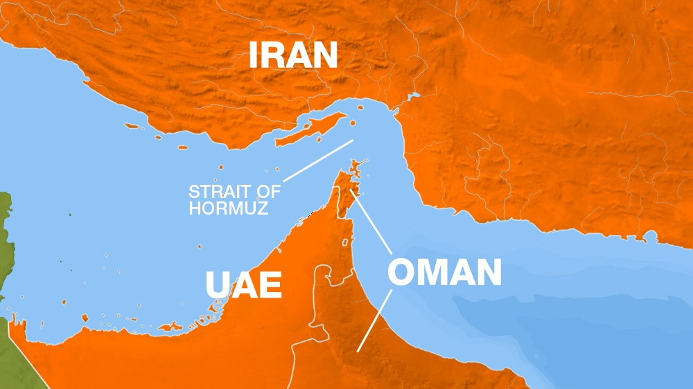 Strait of Hormuz Map
