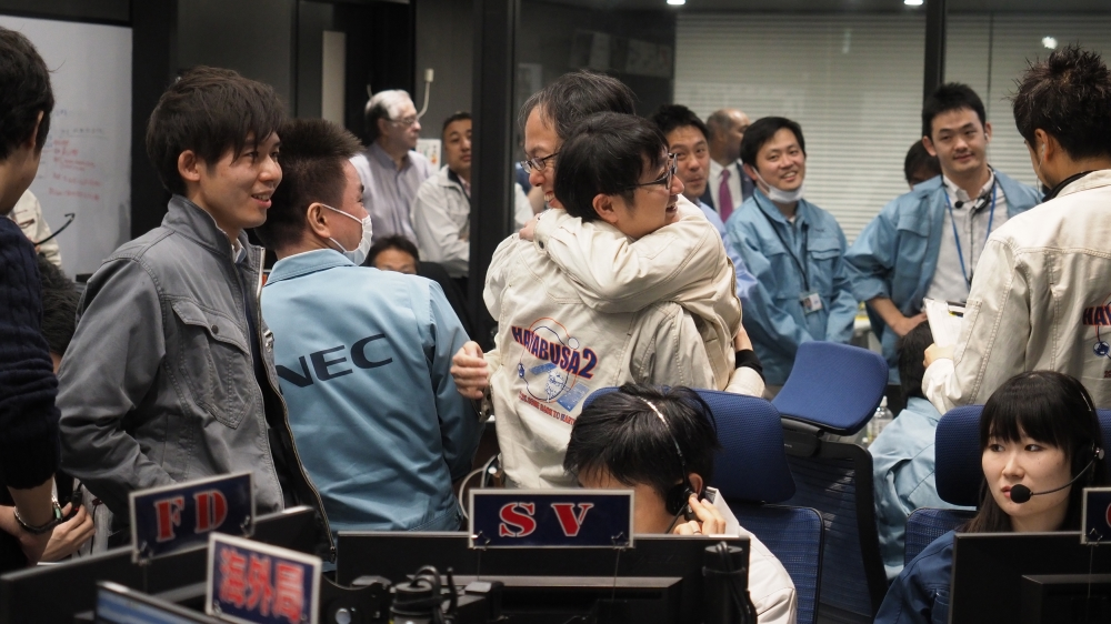 Japanese spacecraft Hayabusa 2 lands on asteroid Ryugu