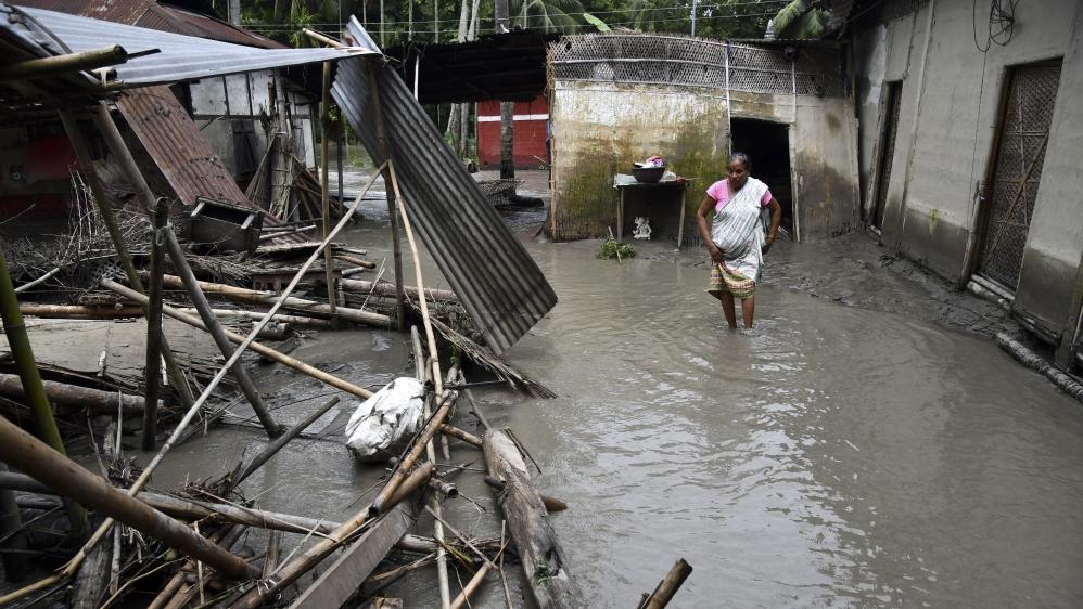 India Assam monsoon