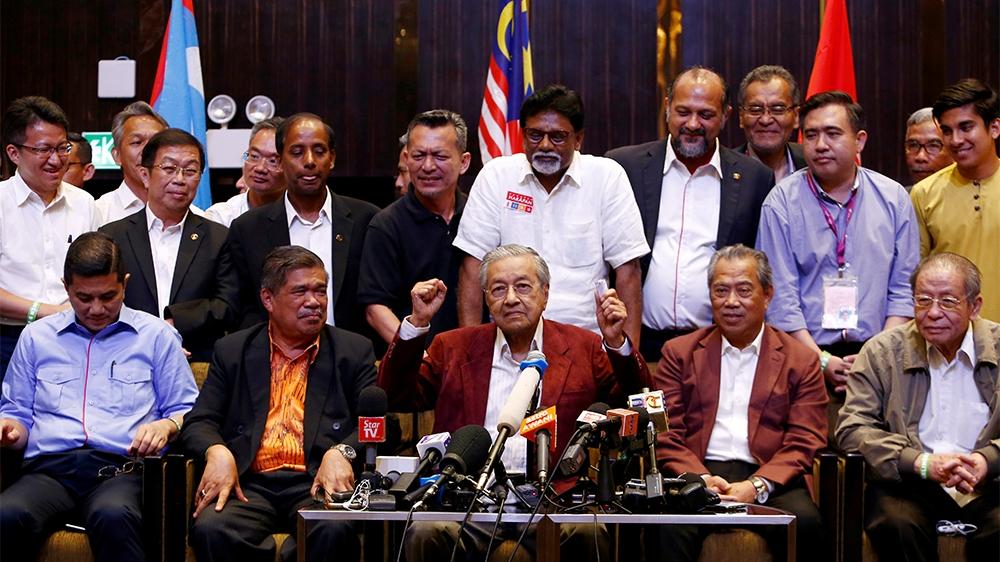 Malaysia election winners