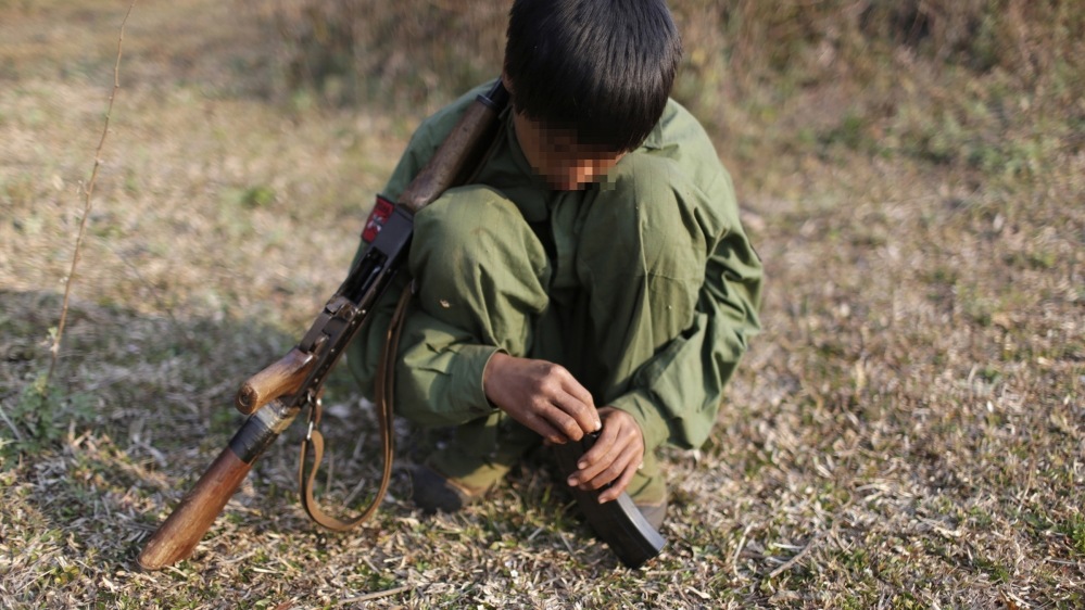 child soldiers in Myanmar