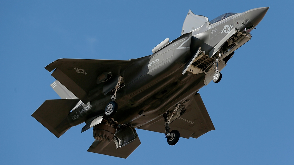 US expels Turkey from F-35 fighter jet programme