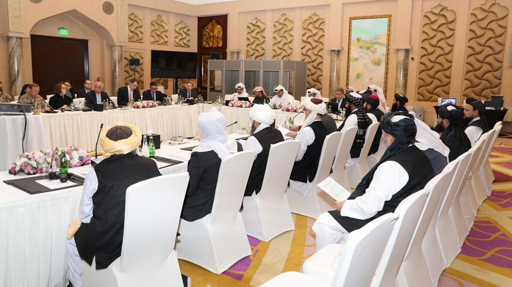 Taliban, US and Qatar hold talks in Doha
