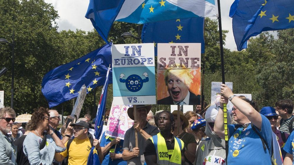 London anti-Brexit march