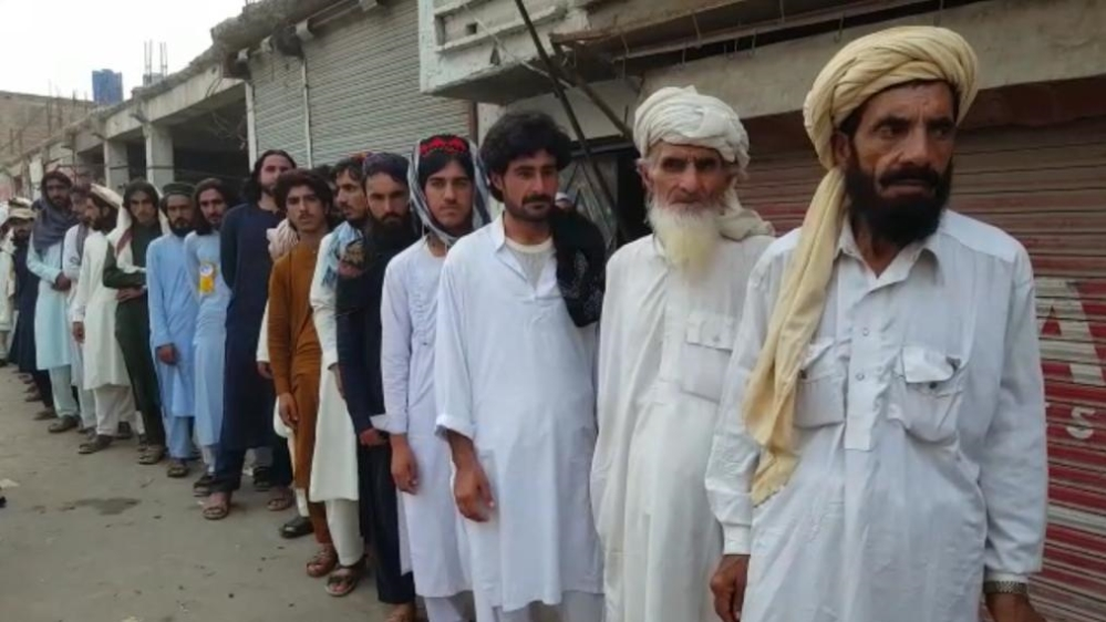 Historic election under way in Pakistani former tribal districts