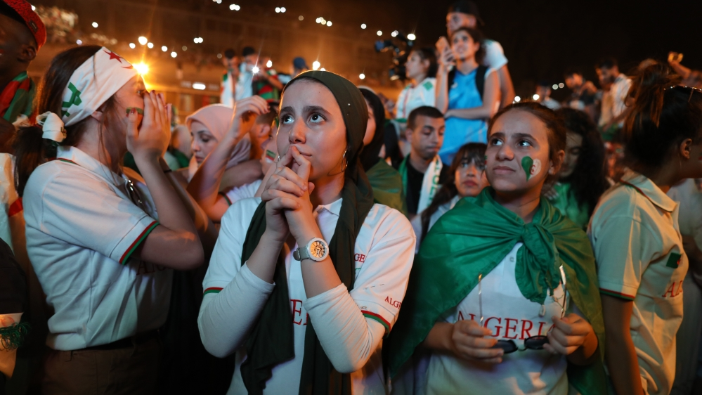 Algeria supporters