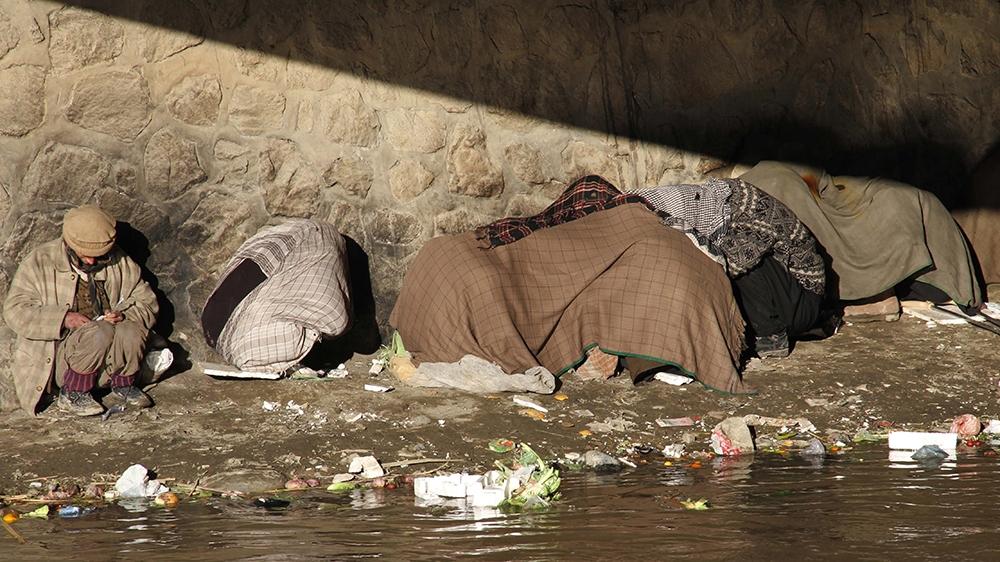 Afghanistan drug addicts