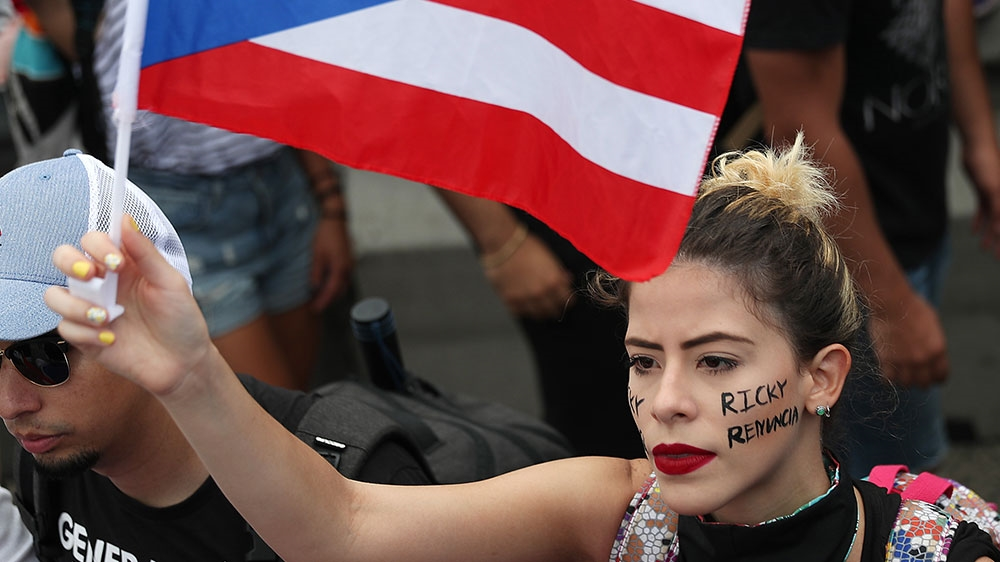 , Hundreds of thousands demand Puerto Rico's governor resign, WorldNews | Travel Wire News
