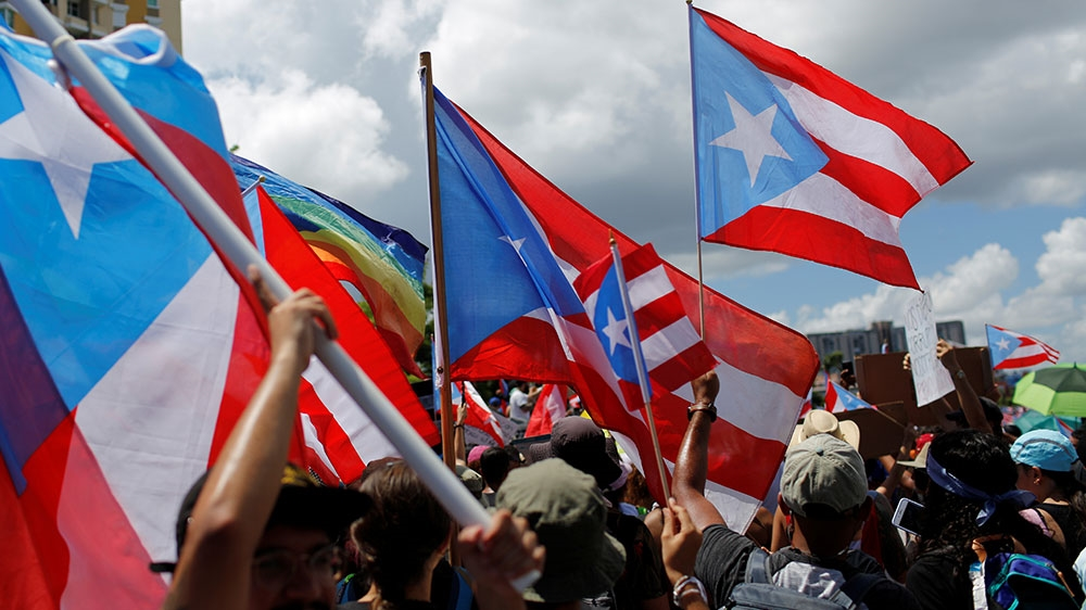 , Hundreds of thousands demand Puerto Rico's governor resign, Hottest World News | Travel Wire News